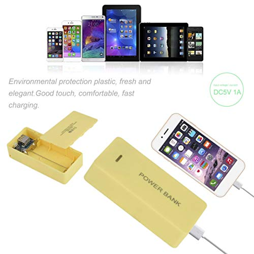 Portable Power Bank Case External Mobile Backup Powerbank Battery 8400mAh USB Universal Charger Suitable For Phone (Radio Shack Portable Power Bank Not Charging)