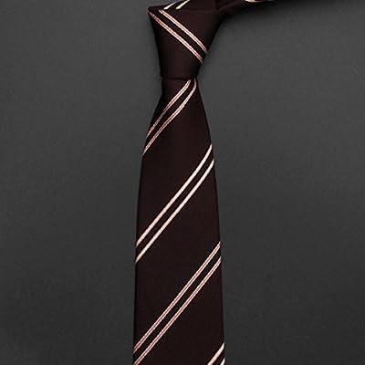 Sumferkyh Los Hombres Corbata Moda Casual Pequeño Corbata Novio ...