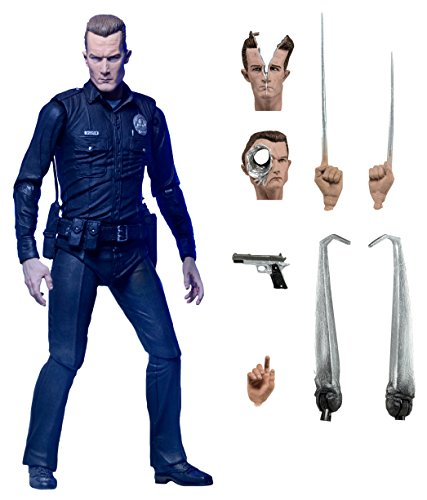 NECA Ultimate T-1000 Terminator Action Figure, ()