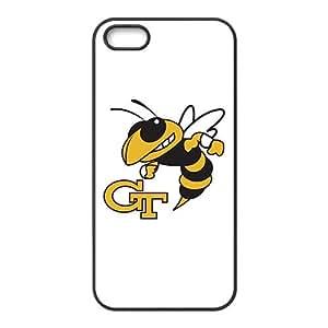 NCAA Georgia Tech Yellow Jackets Black For SamSung Galaxy S4 Phone Case Cover