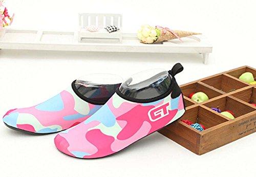 Yoga Eau Treadmill Sport Doux Randonnée Chaussures Rouge De Rose qxwpEAtX