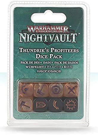 Games Workshop Warhammer UNDERWORLDS - Dados ESTRAPERLISTAS DE THUNDRIK: Amazon.es: Juguetes y juegos