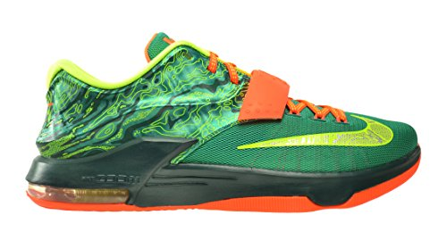 Nike KD VII Weatherman Men's Shoes Emerald Green/Metallic Silver-Dark Emerald 653996-303 (12 D(M) US)