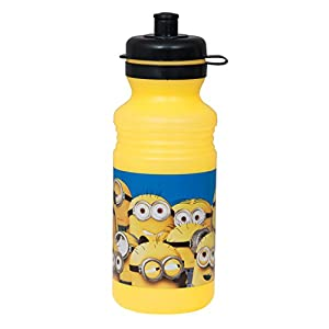 18oz Plastic Despicable Me Minions Water Bottle