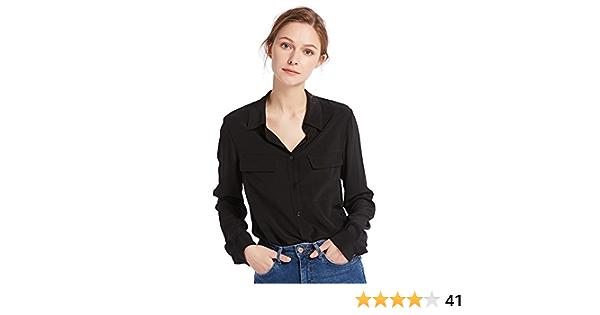 LilySilk Camisa Básica De Seda Natural De 18MM: Amazon.es: Ropa