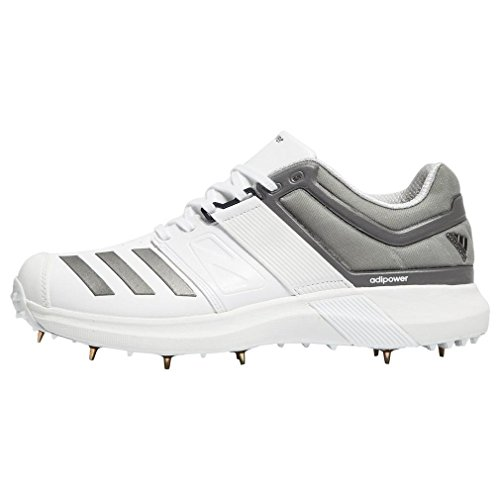 new product 3439f c8027 adidas Adipower Vector Cricket Shoes - SS18-11 - White