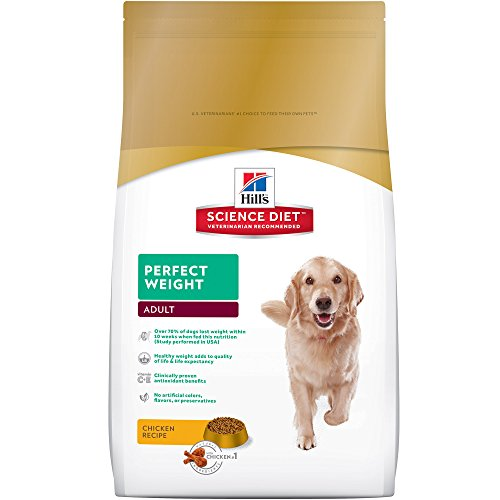 Hill'S Science Diet Adult Perfect Weight Dog Food, Chicken Recipe Dry Dog Food For Healthy Weight...
