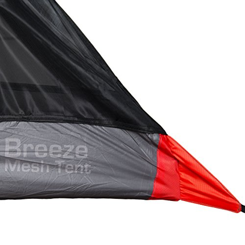 Breeze Mesh Tent - Ultralight 2 Person Mesh Tent Shelter - Perfect for Camping, Backpacking and Thru-Hikes