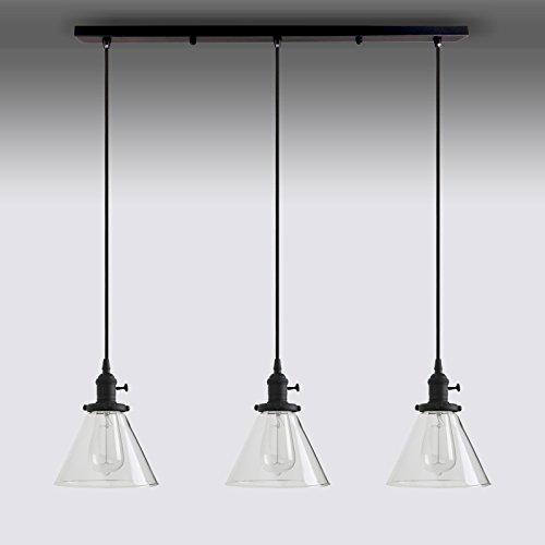 Glass Funnel Pendant Light in Florida - 9