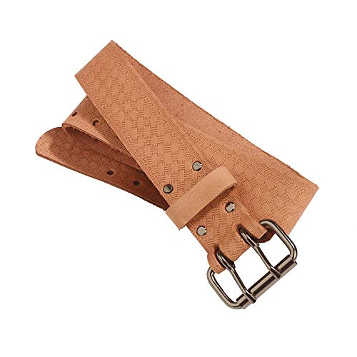 - Bucket Boss 55134 Top Grain Leather Work Belt 1.75-Inch by Bucket Boss