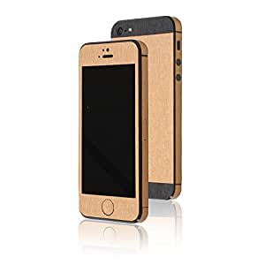 appskins Set de iPhone 5/5s/SE metal Pure Gold/Black