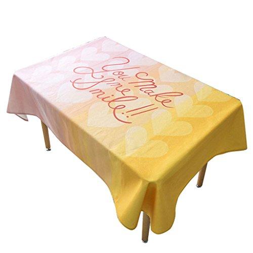 B 140140CM Nappe d'impression, Rural Table Tissu Salon Table Basse Nappe Rectangle Tissu Art Table Ronde épaissir Serviette de Couverture 85-230 CM (Couleur   B, taille   140  140CM)