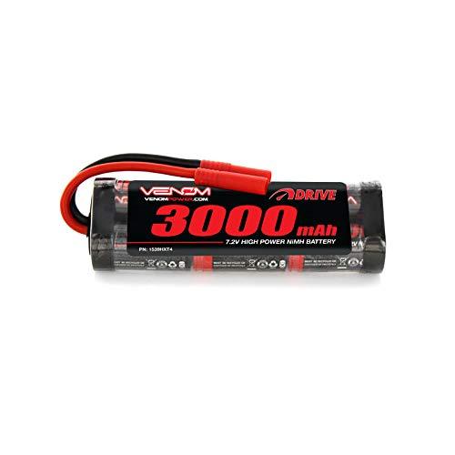 (Venom 7.2V 3000mAh 6-Cell NiMH Battery with HXT 4.0mm)