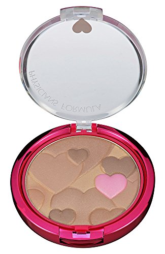Physicians Formula Happy Booster Glow & Mood Boosting Powder, Light Bronzer, 0.4 Ounce