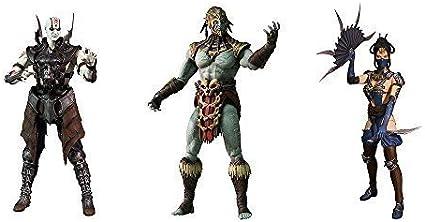 Amazon Com Mortal Kombat X Series 2 Quan Chi Kotal Kahn Kitana
