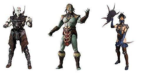 Mortal Kombat X Series 2 Quan Chi, Kotal Kahn, Kitana 6-Inch Action Figures Set of 3 by Mortal Kombat X