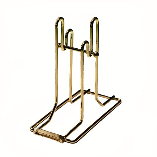 Professional-Use Brass Plated Raffle Ticket Holder for Auction or Raffle Events by Mr. Chips, Inc