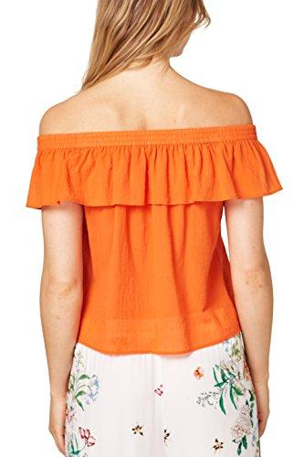 Blouse Orange 820 Orange Femme edc Esprit by zqExngF