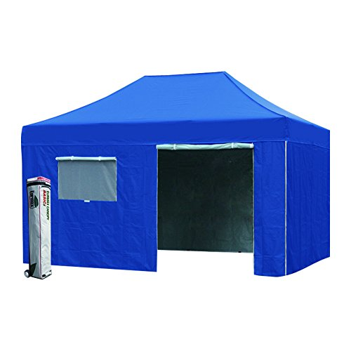 Eurmax 8 X 12 Pop up Canopy Wedding Party Tent Outdoor Instant Gazebo with Side Walls Bonus Roller Bag