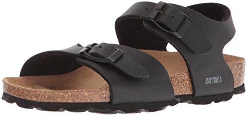 Price comparison product image Bayton Girls' Pegase Sandal, Black, 33 Medium EU Little Kid (2 US)