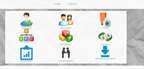 Salon Point of Sale Checkout Software; Inventory Management & Control, Touchscreen Point of Sale Checkout Salons and Spas; Software Only (Online Access Code Card) Windows, Mac, Smartphone
