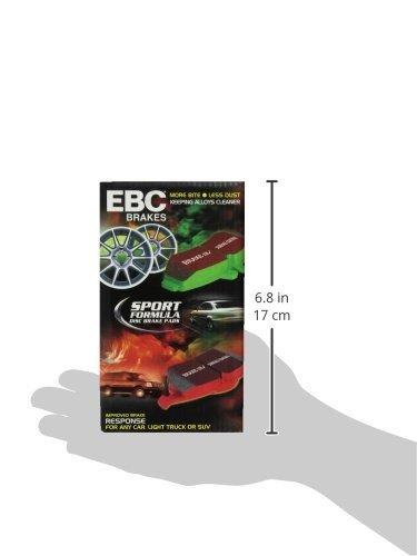 EBC Brakes DP61100 6000 Series Greenstuff Truck and SUV Brake Pad