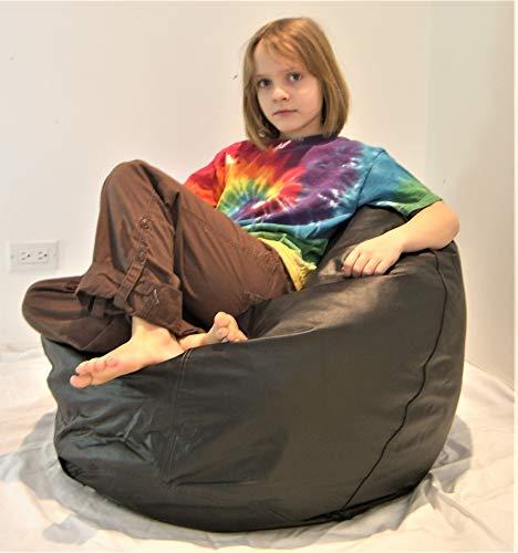 (Comfy Bean Beanbag Small Ultra Vinyl - Pecan)
