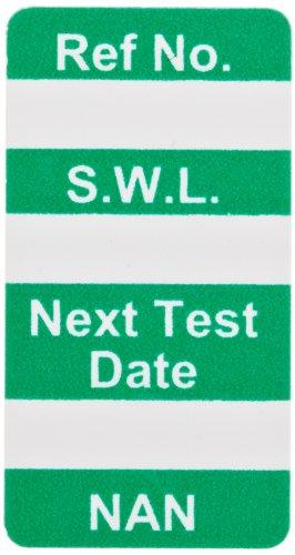 Brady  NAN-NAN GREEN, Green NANOTAG INSERT SAFE LOAD GRN (100 Tags)