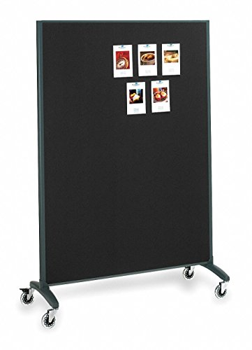 (Quartet DuraMax Porcelain Whiteboard Surface Motion Room Divider - 72 x 48 in.)
