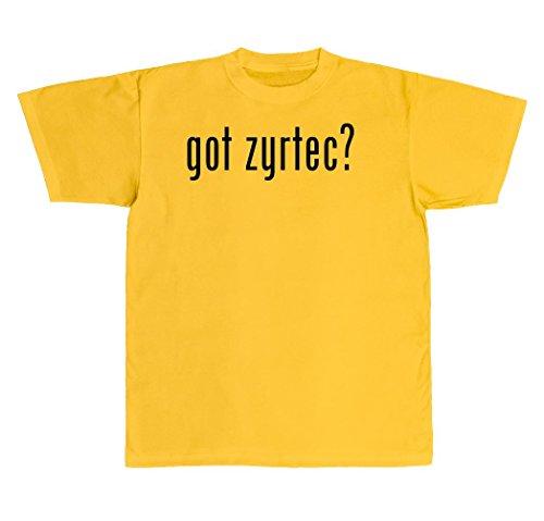 got-zyrtec-new-adult-mens-t-shirt-yellow-xxx-large