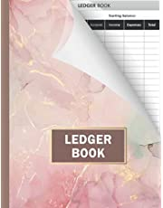 Ledger Book: Record Income and Expenses | Register for keeping more 2700 entries of your financial activity | Perfect for personal use or small businesses.