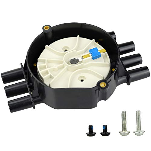 (High Performance Distributor Cap & Rotor Brass Terminals For Vortec V6 Jimmy Silverado GMC 4.3L )