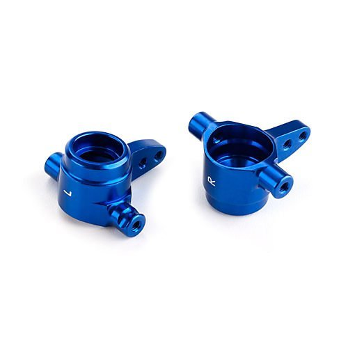 Anodized Aluminum Steering Blocks - Traxxas 6439 Blue-Anodized 6061-T6 Aluminum Steering Blocks (pair)