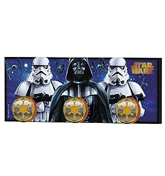 Stor - Perchero Infantil Charm | STAR WARS - Disney - Dimensiones: 40 x 15 cm. - Varios Modelos