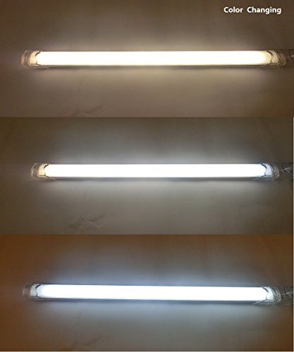 Under Cabinet Lighting, Color Temperature Tunable 2800k-6500k, 12 inch LED, 6 Panel Kit, Total of 24W, 24V DC, 2400lm, Bosanlight by Bosanlight (Image #5)
