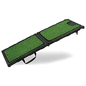 Gen7Pets Natural Premium Step Pet Ramp for Dogs and Cats – Folds Flat, Lightweight and Strong Grip Click on image for further info.