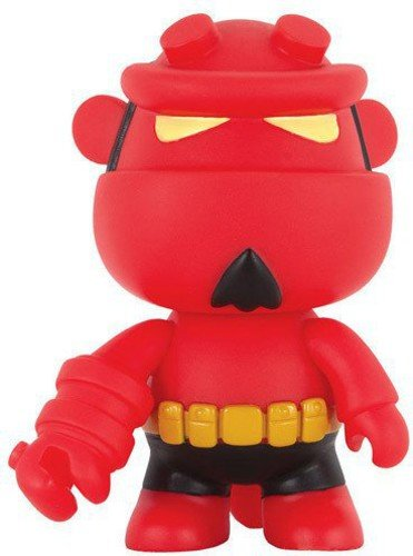 Action Figure Mini Qee Figure Hellboy Bprd Dark Horse Multicores