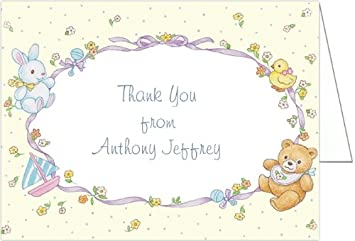 b784fd8fc Amazon.com  Baby Toys Montage Baby Thank You Cards - Set of 20  Baby