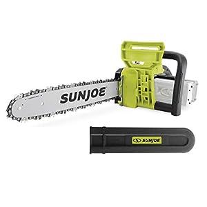 Sun Joe 24V-X2-CS16-CT 48V iON+ 16-Inch Cordless Chain Saw (2 x 24V 2.0Ah), Tool Only