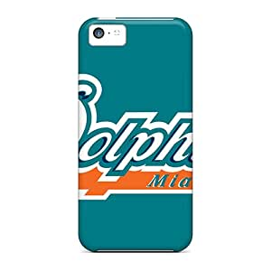 Iphone Case - Tpu Case Protective For Iphone 5c- Miami Dolphins