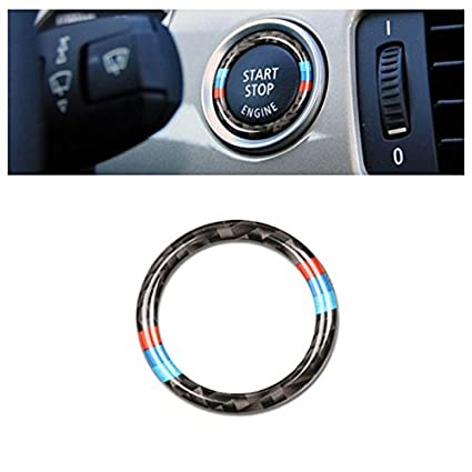 638074fa33bc Amazon.com  Dragon King Car Engine Start Stop Ignition Key Ring Stickers  for BMW E90 E92 E93 2009-2012 Accessories  Pet Supplies