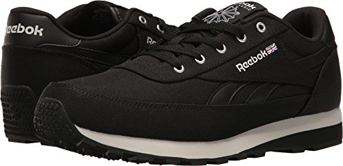 Black Men's Renaissance Shoes (Reebok Men's CL Renaissance TXT Fashion Sneaker, Us-Black/Steel/Gravel, 10 M US)