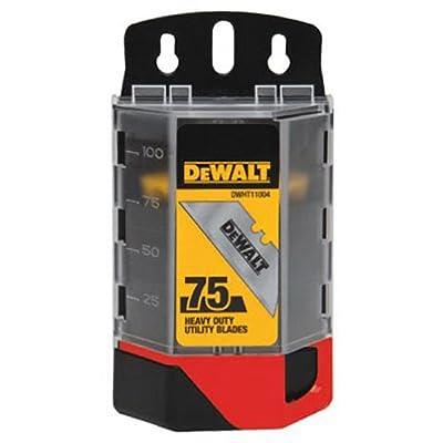 DEWALT. DWHT11004L Heavy Duty Utility Blades, 75-Pack