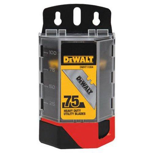 (DEWALT DWHT11004L Heavy Duty Utility Blades, 75-Pack)