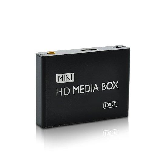 Mini 1080P Full HD Media Player with AV/HDMI/USB