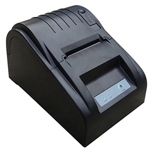 ZJ 5890T 58mm USB Thermal Receipt Printer Black - 1