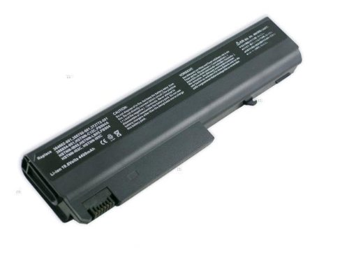 10.8V 4400MAH Black Replacement HP battery for Compaq Business Notebook NC6000 NX6100 NX6300 Series (Hp 6515b Business Notebook)