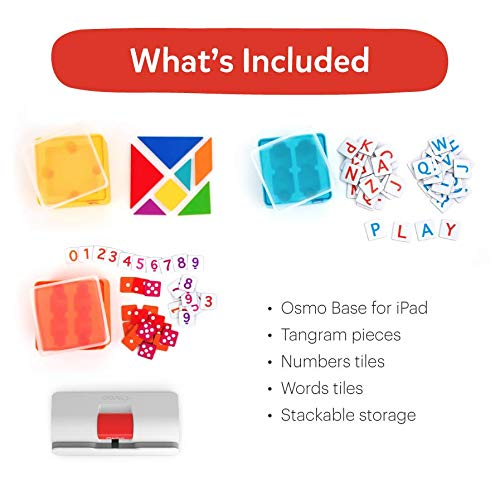 41AvaUMs0mL - Osmo - Genius Starter Kit for iPad (NEW VERSION) - Ages 6-10 - (Osmo Base Included)