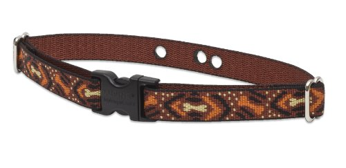Lupine 3/4-Inch Down Under 12-17 Containment Collar Strap for Small to Medium Dogs, My Pet Supplies