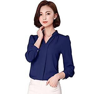 Keiraa Shirt for Women in Blue Color (Shirt for Women Casual and Office Wear Shirts for Ladies)